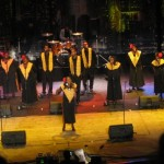 Harlem Gospel Choir in the Opera Hall, Bourgas, Bulgaria